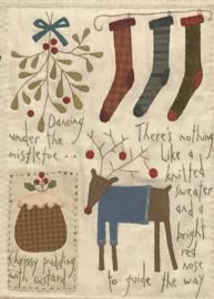 """The Santa, The Tree, The Turkey & Me""  (zonder stoffen)"