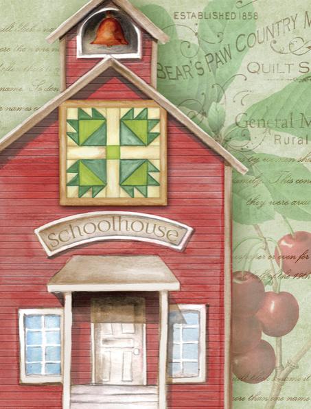 Ansichkaart Schoolhouse