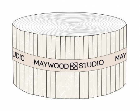 Jelly Roll Solitaire whites - Maywood Studio