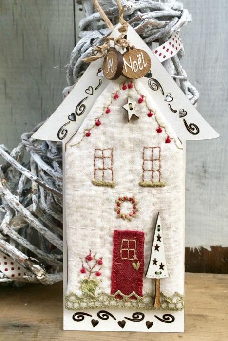 """Kerst ornament """"Maison de Noël"""""""