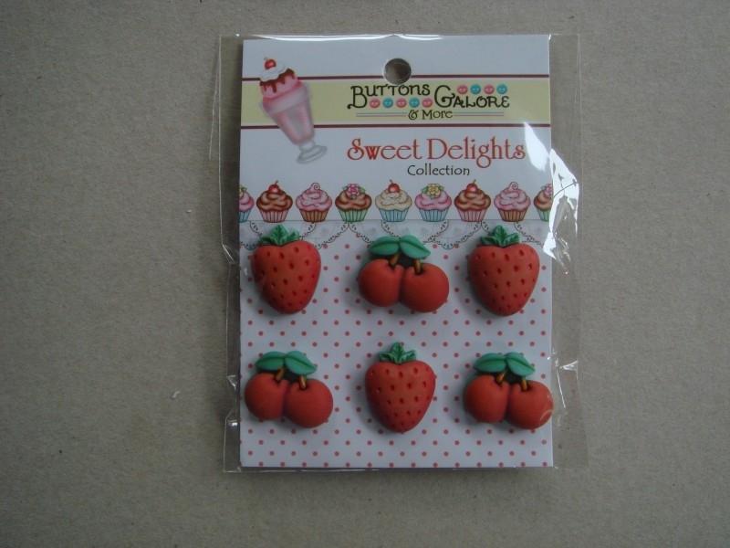 Aardbeien en Kersen