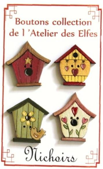Knopen vogelhuisjes #037