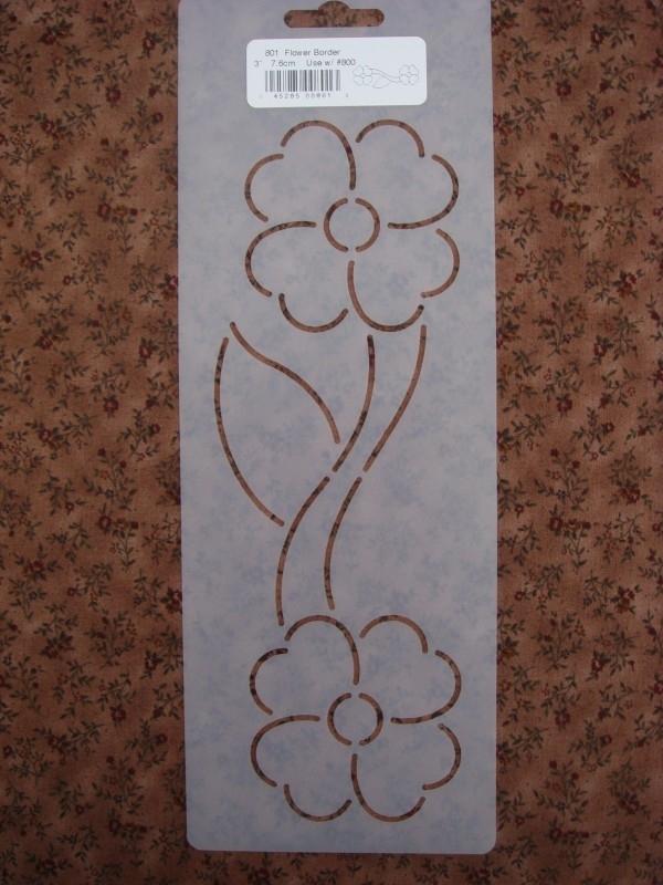 """Flower Border 3"""" (7.6 cm)"""