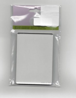 Acryl stempelblok B klein 7.4 x 10.5 cm.