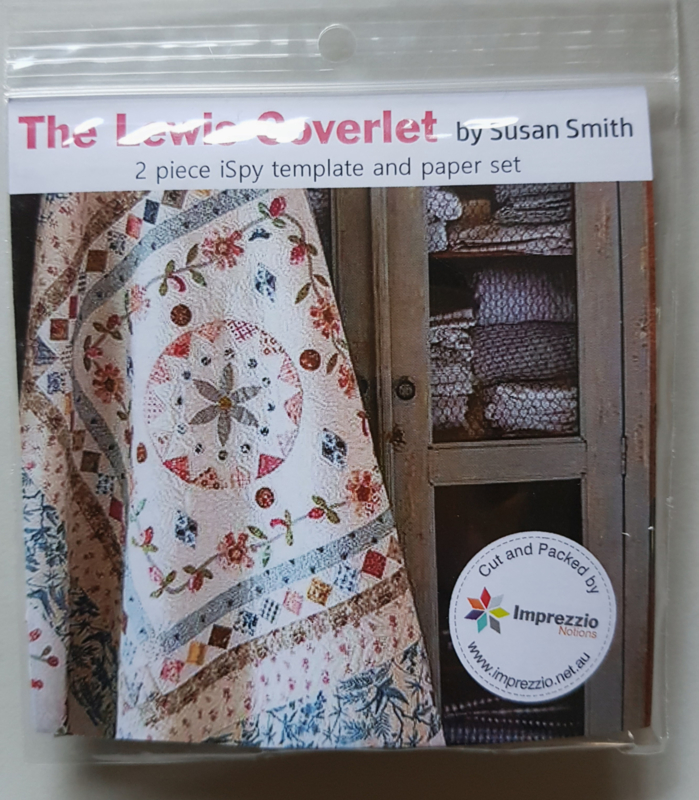 Acryl Template set The Lewis Coverlet