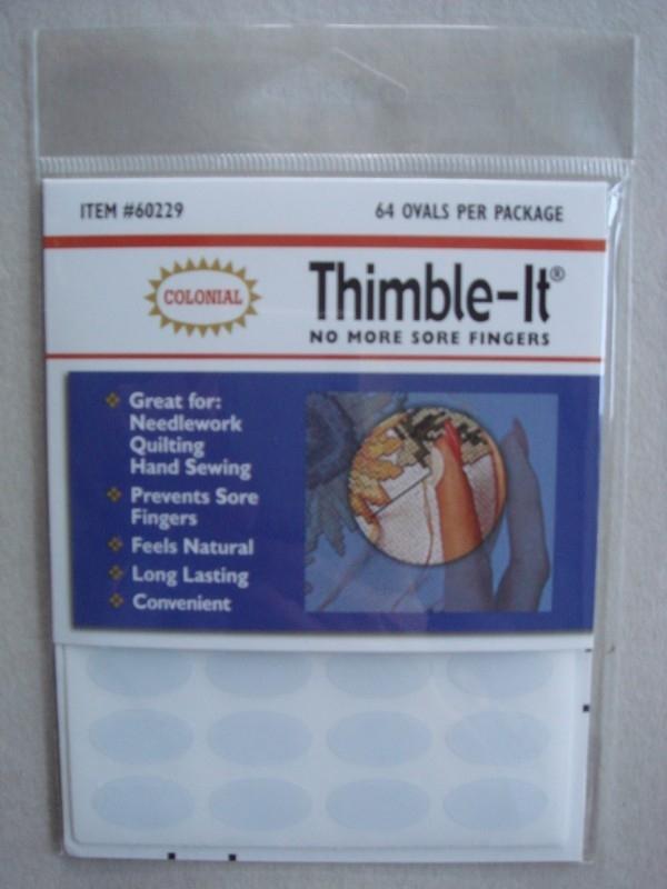 Thimble-It  Self Adhesive Finger Pads