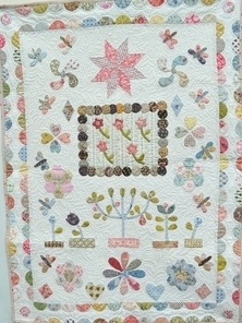 The Orchard Crib Quilt - Susan Smith (compleet ptroon)