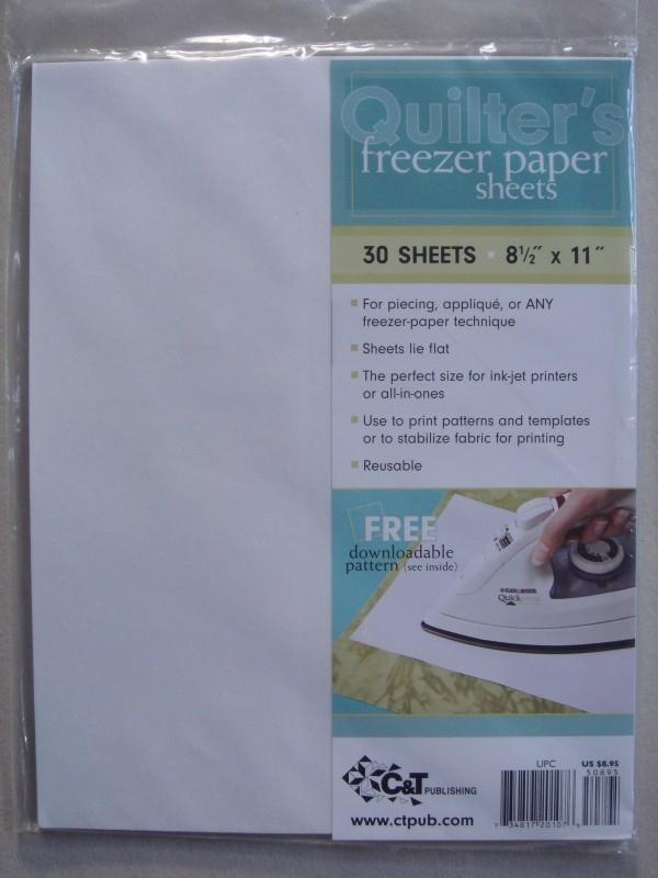 Freezer papier