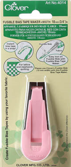 Fusible Bias Tape Maker 18mm 3/4in