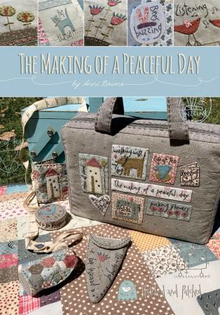The Making of A Peaceful Day  - Hatched and Patched