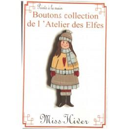 Knoopje Miss Hiver # 046