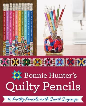 Bonnie K Hunter's (Bonnie & Camille) Quilty Pencils