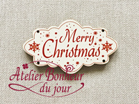 Knoopje Merry Christmas