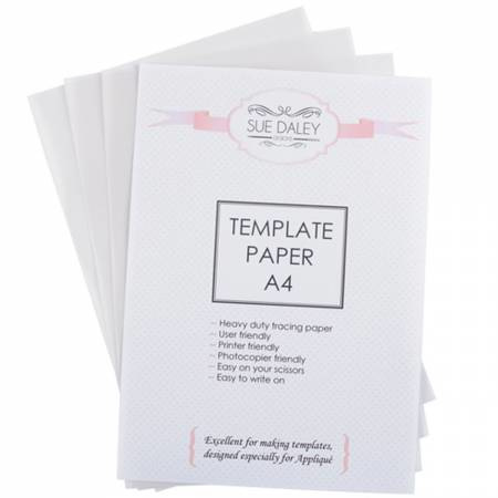 Template papier - Sue Daley