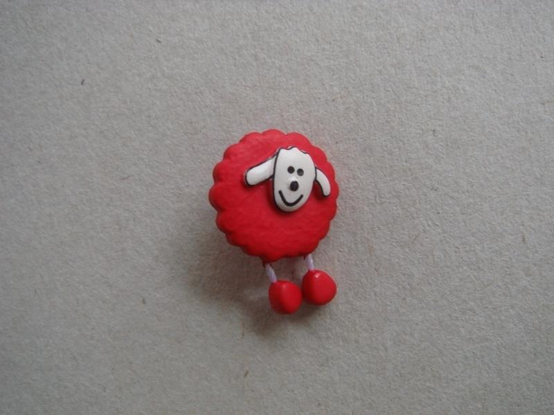 Schaapje (rood)