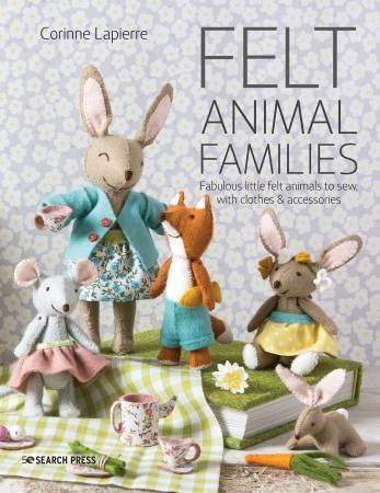 Felt Animal Families - Corinne Lapierre