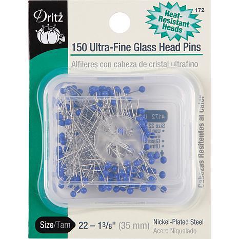 Dritz Ultra-Fine Glass Head Pins (hittebestendig)