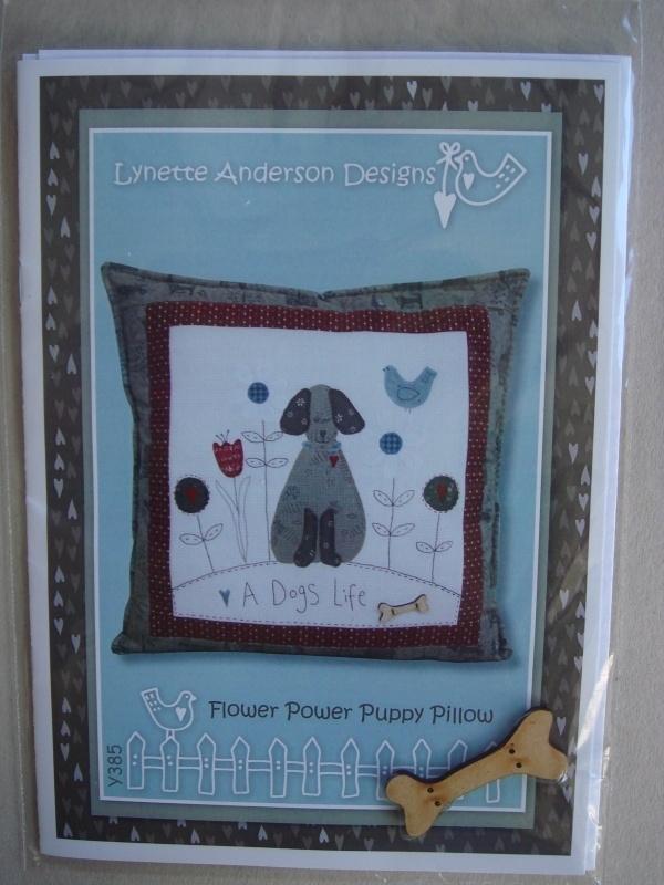 Flower Power Puppy Pillow