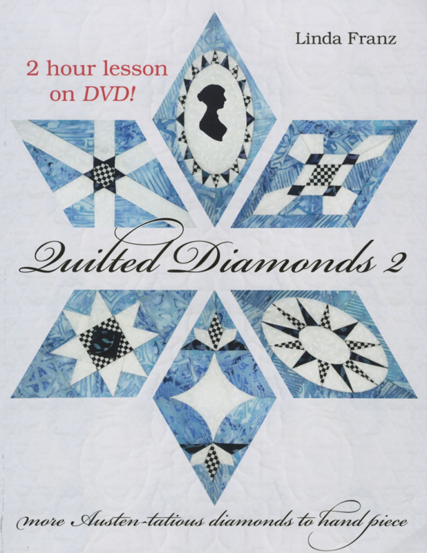 Quilted Diamonds 2 (incl.DVD)  - Linda Franz
