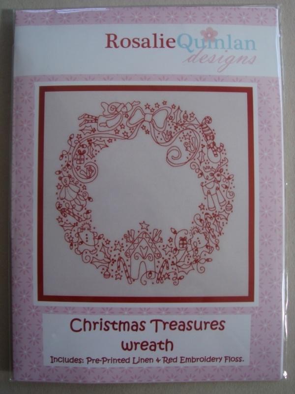 Christmas Treasures wreath