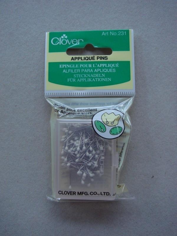 Clover Appliqué pins