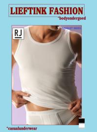 ACTIE: 2 x  RJ - HEREN SINGLET 95/5  36001- WIT en ZWART - BODY ONDERGOED - *casualunderwear