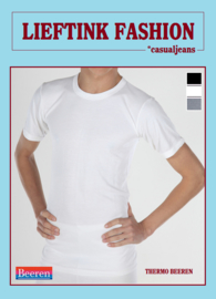 ACTIE: THERMO HEREN BEEREN T-SHIRT K.M. IVOOR WINTERSPORT ONDERGOED *casualunderwear