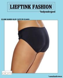 ACTIE: ELOMI ZWARTE SLIP CAITLYN  Maat M t/m 4XL *bodyondergoed