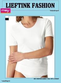 ACTIE: MEY EMOTION SHORT SLEEVE SHIRT K.M. 56201 -Ademende Microvezel- *bodyondergoed