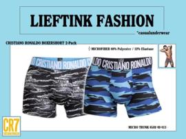 ACTIE: CRISTIANO RONALDO (CR7) 2-Pack BOXER TRUNK  -MICROFIBER- *casualunderwear