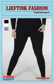 ACTIE: THERMO DAMES LONG PANTS ZWART - WINTERSPORT ONDERGOED *bodyondergoed