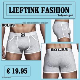 ACTIE: BOLAS HEREN BOXERSHORT - ULTRALICHT KATOEN in 4 KLEUREN - *bodyondergoed
