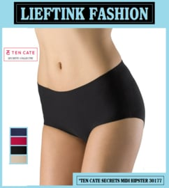 ACTIE: TEN CATE NAADLOZE SECRETS MIDI HIPSTER 30177 (Invisible Underwear) *bodyondergoed