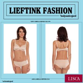 ACTIE: LISCA NIET VOORGEVORMDE BEUGEL B.H. LORELLA 979 -Huidskleur- *bodyondergoed