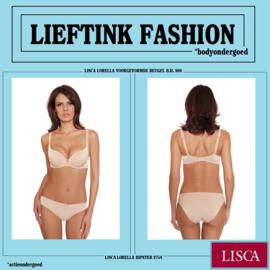 ACTIE: LISCA VOORGEVORMDE BEUGEL B.H. LORELLA 980 -Huidskleur- *bodyondergoed