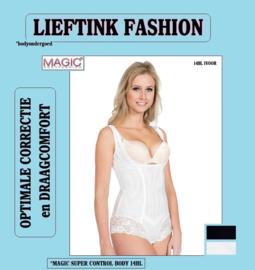 ACTIE: MAGIC SUPER CONTROL BODY ZWART en IVOOR 14BL *corrigerend bodyondergoed