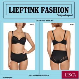 ACTIE: LISCA BEUGEL B.H. ALEGRA 20147 ZWART -OMVANG 75 t/m 100- *bodyondergoed