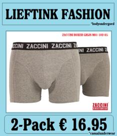 ACTIE: ZACCINI 2-PACK HEREN BOXER - ELASTISCH KATOEN - *casualunderwear