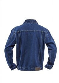 ACTIE: HEREN SPIJKERJACK BRAMS PARIS  ELTON - BASIC DENIM 001 - 33095A51 -  *casualwear