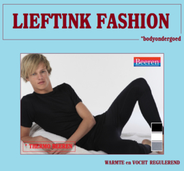 ACTIE: THERMO BEEREN HEREN LANGE PANTALON ZWART WINTERSPORT *bodyondergoed