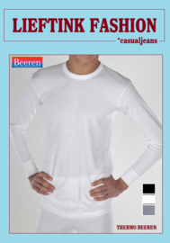 ACTIE: THERMO BEEREN HEREN SHIRT LANGE MOUW IVOOR WINTERSPORT *bodyondergoed
