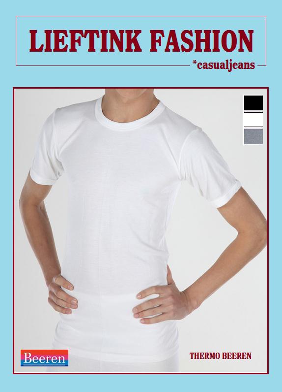 ACTIE: THERMO HEREN BEEREN T-SHIRT K.M. IVOOR WINTERSPORT ONDERGOED *casualunderwear