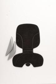 Polisport Stylingset Voorzitje Bubbly zwart