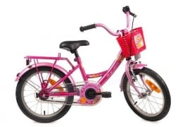 BIKE FUN KIDS LOLLIPOP FUCHSIA/ROZE 12 INCH