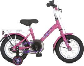 ALPINA GIRLPOWER MEISJESFIETS 12 INCH CANDY PINK