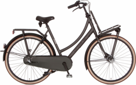 CORTINA U4 TRANSPORT 3 VERSNELLINGEN RAW BLACK GOLD MATT MET ROLLERBRAKE
