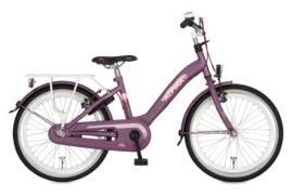 ALPINA GIRLPOWER MEISJESFIETS 22 INCH VIVID PURPLE MATT