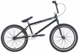 "BMX HARO 300.1 GLOSS METALLIC BLACK / GLANS METALLIC ZWART 21"" TT"