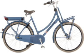 CORTINA E-U4 TRANSPORT DAMES DULL BLUE 28 INCH 8 VERSNELLINGEN
