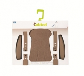 Qibbel Stylingset Voorzitje faded brown